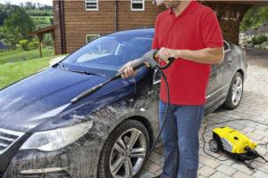 Karcher K5 Compact Home transport car wash